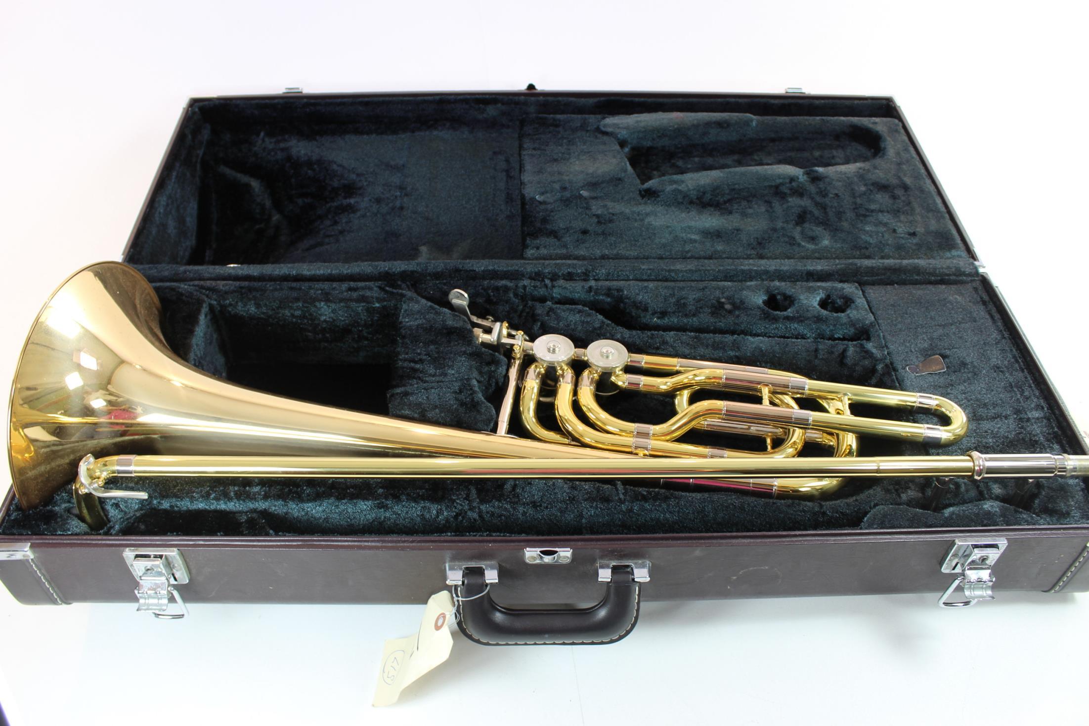 Yamaha Ybl-613g Dual Independent Rotor Bass Trombone