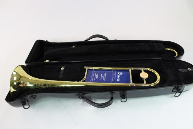King 2BLS Jiggs Whigham Model Professional Trombone .491 Bore