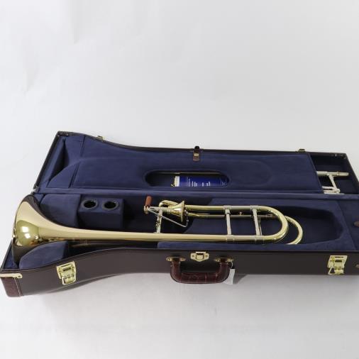 Bach Stradivarius Model 42AFG Professional Trombone INFINITY VALVE GOLD BRASS BELL GORGEOUS