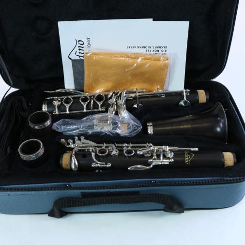 Andino by Luis Rossi Intermediate Wood Clarinet BRAND NEW NICKEL KEYS