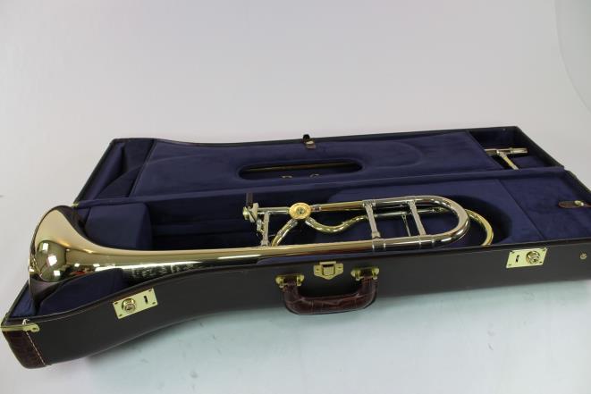 Bach Stradivarius Artisan A47MLRG Professional Trombone La Rossa Valve  GORGEOUS