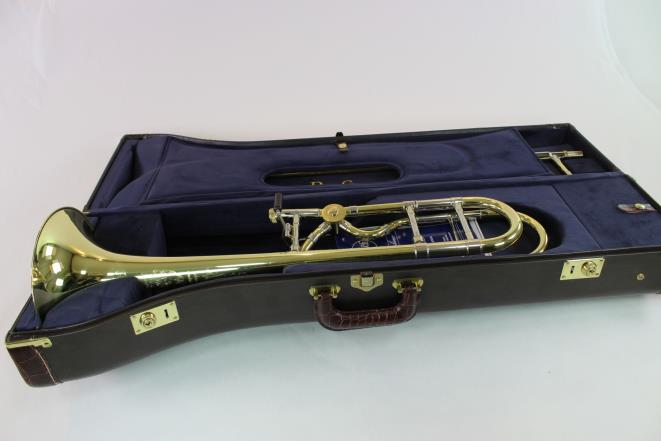Bach Stradivarius Artisan A47MLR Professional Trombone w/ La Rosa Valve VERY NICE